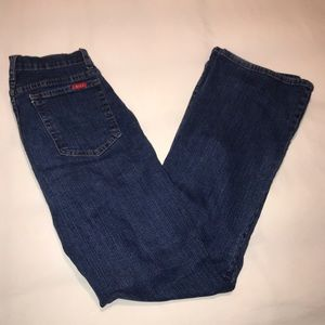NYDJ Marilyn Straight Tummy Tuck Jeans, Size 10